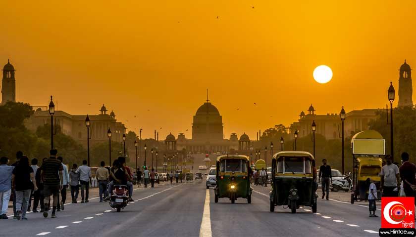 Hindistan gün batımı